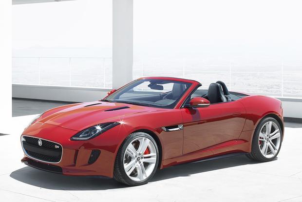2014 jaguar f type pricing announced autotrader. Black Bedroom Furniture Sets. Home Design Ideas