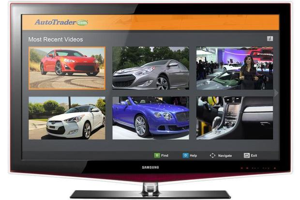 App for Samsung Smart TV Offers Access to AutoTrader.com featured image large thumb0