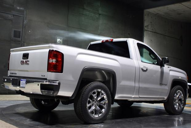 252683428488 together with 2014 Gmc Sierra Regular Cab Unveiled likewise 363 2015 Gmc Canyon All Terrain Lifted Wallpaper 9 together with 2008 Chevrolet Silverado 1500 Wheels Suspension Lift And More moreover 1084662 gmc Sierra Vs Ram 1500  pare Trucks. on 2014 gmc sierra single cab