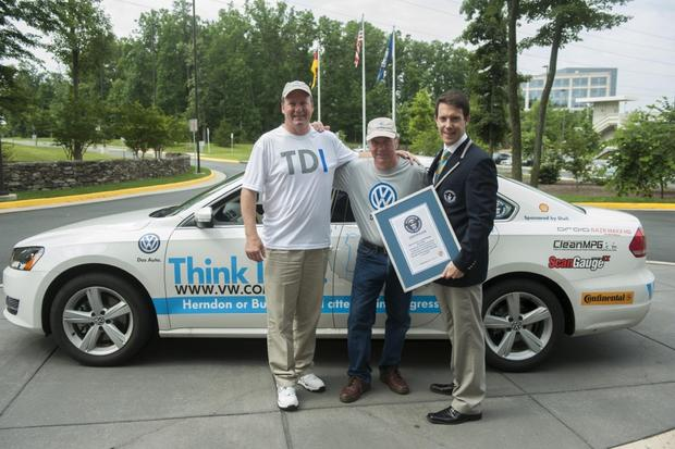 Volkswagen Passat Tdi Sets World Record For Fuel Economy
