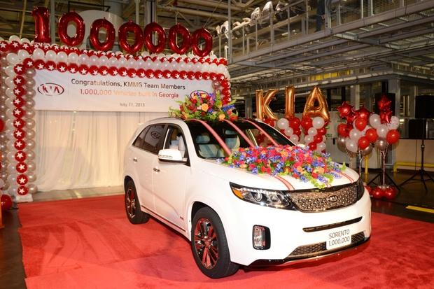 Kia Builds One-Millionth Vehicle In United States featured image large thumb0