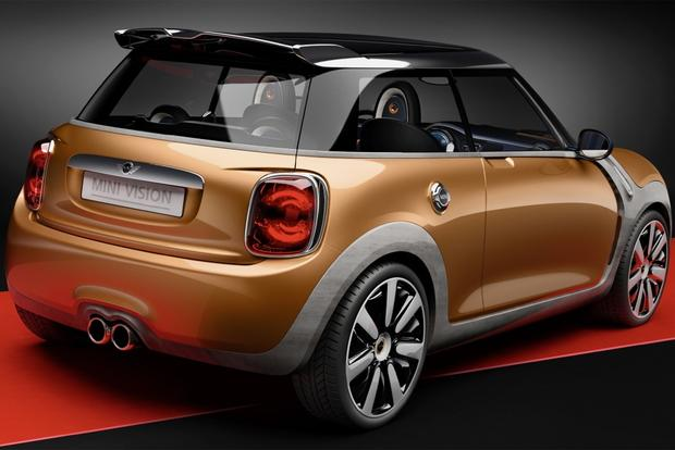 Next MINI Cooper Teased With New MINI Vision Concept featured image large thumb0