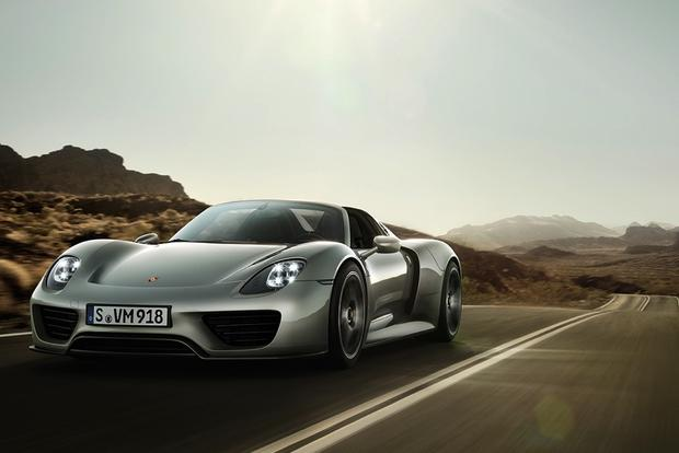 Porsche 918 Spyder and Special Edition 911 on Display at Monterey featured image large thumb0