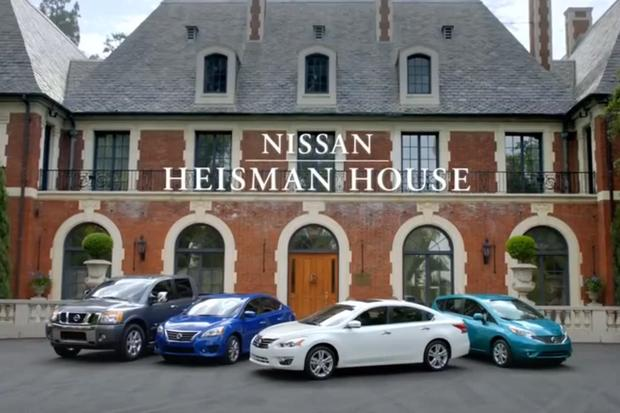 Nissan Heisman House Returns for a Third College Football Season on ESPN featured image large thumb0