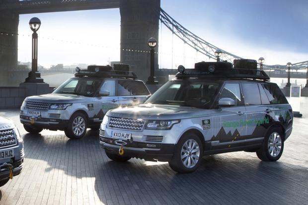 2014 Range Rover Hybrid Brings Plug-In Technology to Luxury SUVs featured image large thumb0