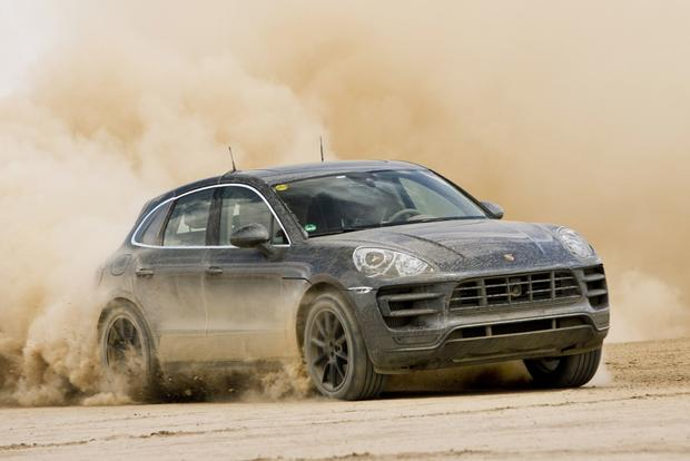 Porsche Macan Teased Ahead of LA Debut featured image large thumb0