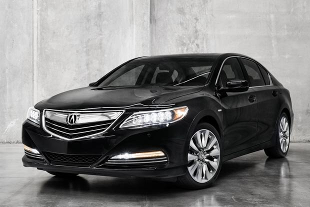 2015 acura rlx sport hybrid to debut at la auto show autotrader. Black Bedroom Furniture Sets. Home Design Ideas