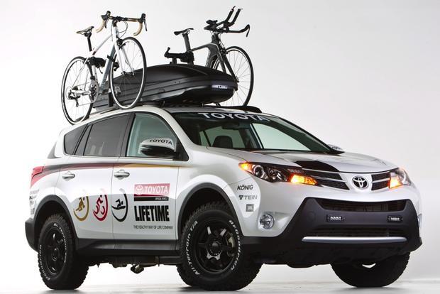 Toyota Builds Fitness Focused Rav4 For Triathletes