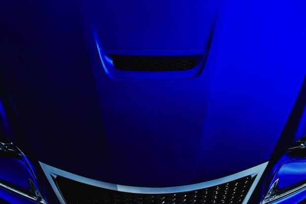Lexus RC F Performance Coupe Likely Teased in New Photo featured image large thumb0