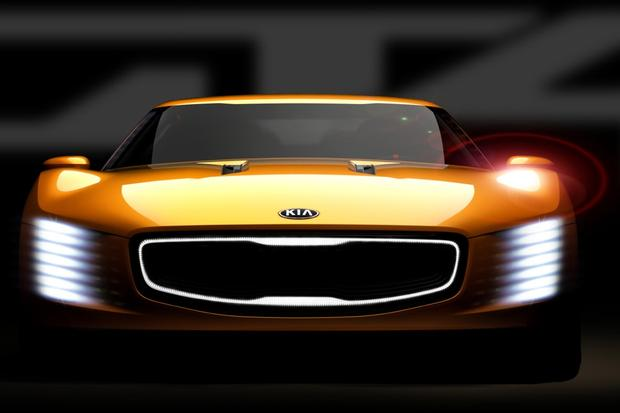 Kia GT4 Stinger Concept Teased Ahead of Detroit Auto Show featured image large thumb0