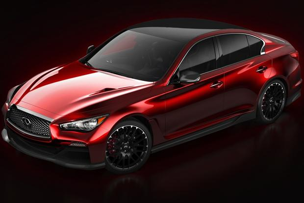 Infiniti Q50 Eau Rouge Concept Revealed Ahead of Detroit Show featured image large thumb0