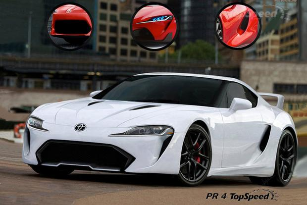 Rendered 2015 Toyota Supra Looks Like The Real Deal Featured Image Large  Thumb0