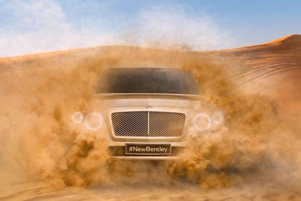 Upcoming Bentley SUV Teased in Newly Released Photo featured image large thumb0