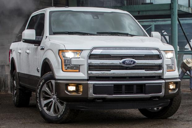 2015 Ford F-150 Offers LED Headlights featured image large thumb0