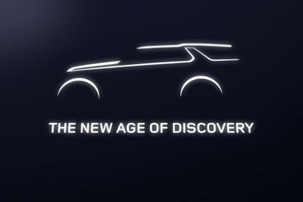 Land Rover Discovery Vision Concept Teased ahead of New York Debut featured image large thumb0
