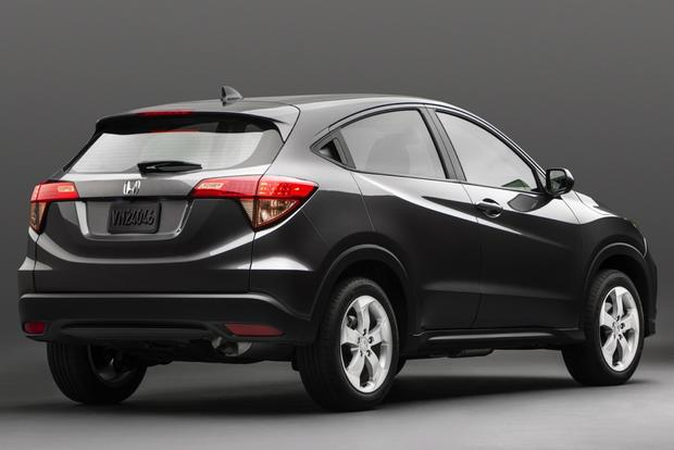 all new 2015 honda hr v crossover officially unveiled autotrader. Black Bedroom Furniture Sets. Home Design Ideas
