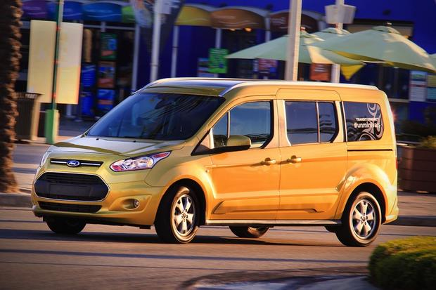 2014 ford transit connect wagon officially on sale autotrader. Black Bedroom Furniture Sets. Home Design Ideas