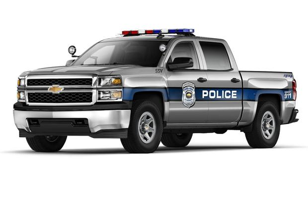 Chevrolet Silverado Adds Police-Ready SSV Model to Its Lineup featured image large thumb0