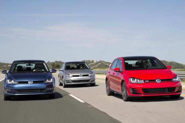 2015 Volkswagen Golf and GTI Earn IIHS Top Safety Pick+ featured image large thumb0
