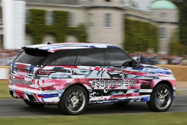 High-Performance Range Rover Sport SVR Teased Ahead of Launch featured image large thumb0