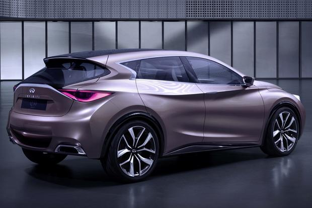 Infiniti Q30 Hatchback and QX30 Crossover Confirmed for 2015 - Autotrader