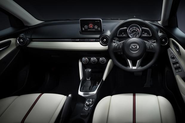 2015 Mazda2 Interior Revealed in New Photos featured image large thumb0