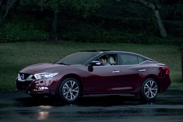 2016 Nissan Maxima Revealed in Super Bowl Ad featured image large thumb0