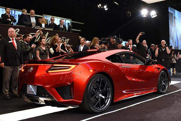 First 2017 Acura NSX Sells For $1.2 Million To NASCAR Team Owner Rick  Hendrick Featured Image