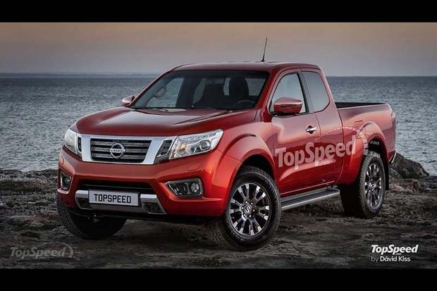 2018 nissan warrior.  2018 check out what the 2018 nissan frontier could look like featured image  large thumb0 intended nissan warrior