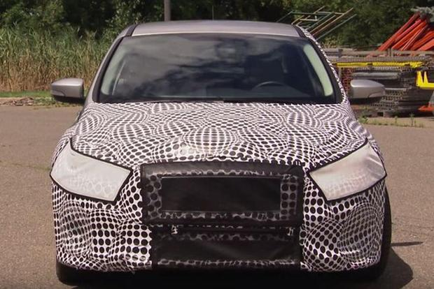 Spies Beware Ford Is Using New Camo Techniques On Prototype Vehicles