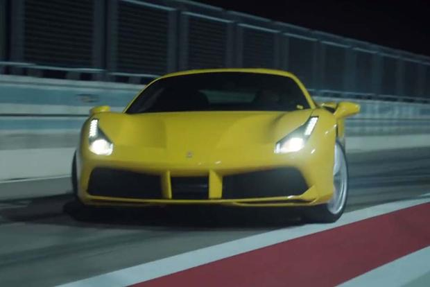 Check Out This Ferrari 488 GTB Drifting Through Barcelona featured image large thumb1