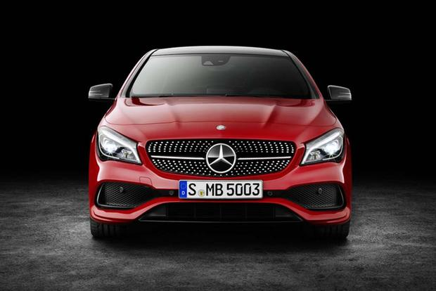 The Mercedes-Benz CLA Is Getting a Face-lift featured image large thumb0