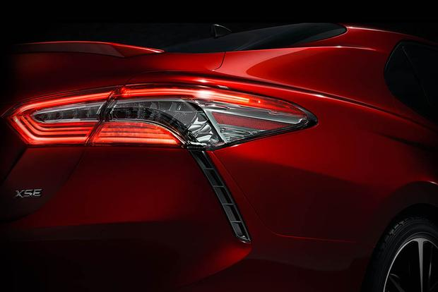 2018 Toyota Camry Teased Ahead of 2017 Detroit Auto Show featured image large thumb0