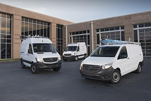 Mercedes-Benz Launches New Way to Soup Up Vans featured image large thumb0