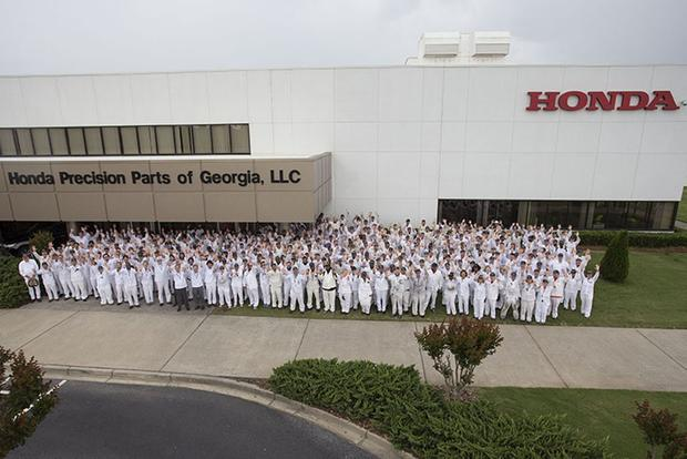 Honda Starting Production of 10-Speed Automatic Transmission in Georgia featured image large thumb0