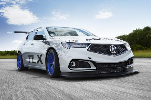 Two Versions of 2018 Acura TLX to Compete at Pikes Peak Hill Climb featured image large thumb0