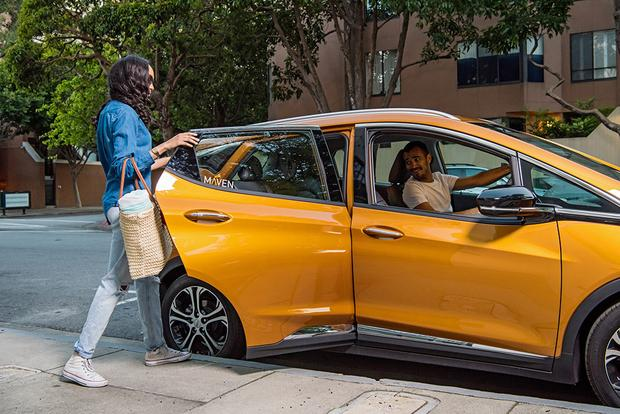 GM's Maven Car Sharing Company Expanding Its Gig Service featured image large thumb1