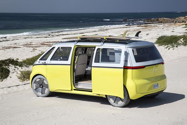Volkswagen Announces a Return to Its '60s Microbus featured image large thumb0