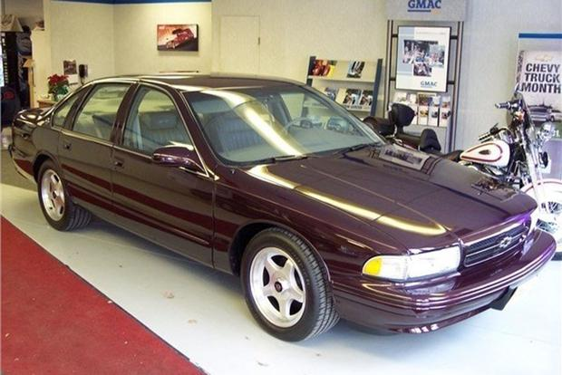 autotrader find 1996 chevy impala ss with 945 miles autotrader. Black Bedroom Furniture Sets. Home Design Ideas