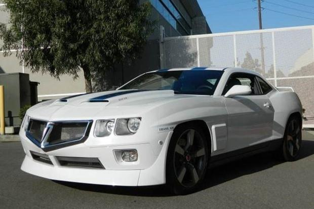 Autotrader Find Pontiac Trans Am Sema Show Car