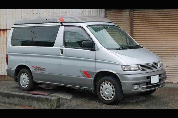 The Mazda Bongo Friendee Was an Actual Car Name featured image large thumb0