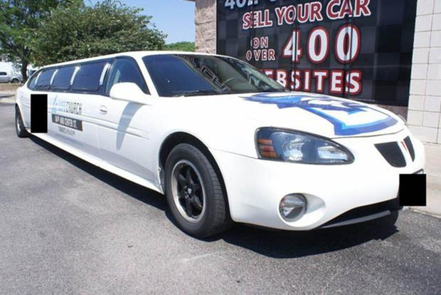 autotrader find pontiac grand prix stretch limo autotrader. Black Bedroom Furniture Sets. Home Design Ideas