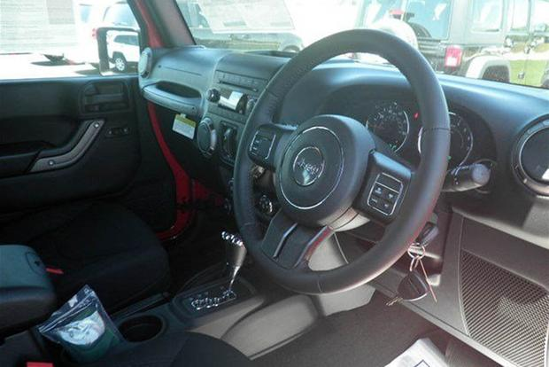 You Can Buy A New Right Hand Drive Jeep Wrangler In The U