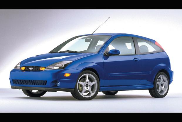 The Forgotten Ford Focus Svt Was The Original Sporty Ford Focus
