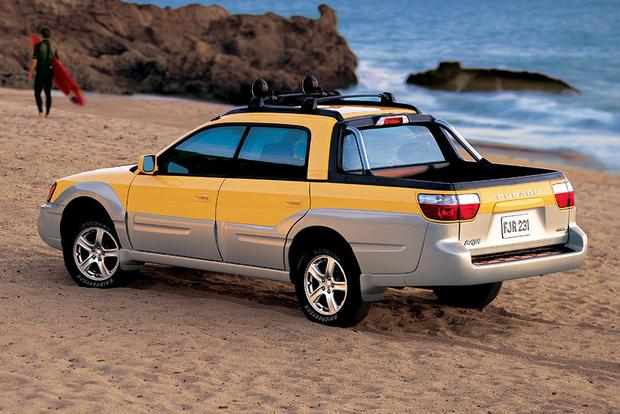 Hybrid Pickup Truck >> The Subaru Baja Is Holding Its Value Ridiculously Well - Autotrader