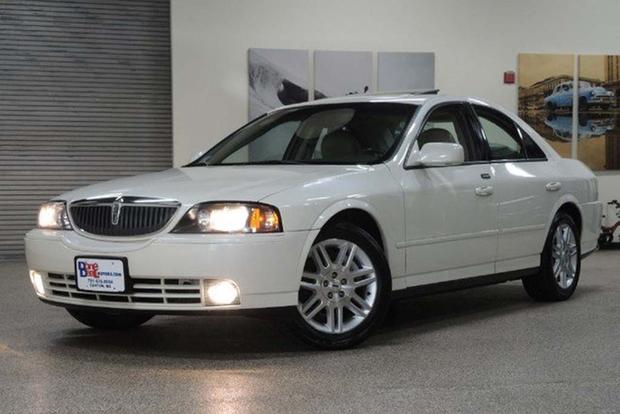 The Lincoln LS Was a Rear-Wheel Drive Sedan Offered With a Stick Shift featured image large thumb0