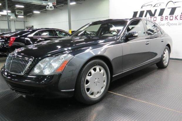 Autotrader Find: 81,000-Mile Maybach for Only $58,000 featured image large thumb0