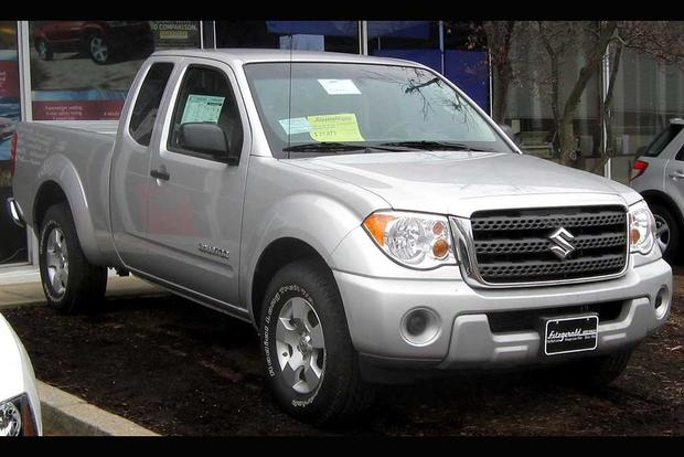 Remember the Suzuki Equator, a Suzukified Nissan Frontier? featured image large thumb0