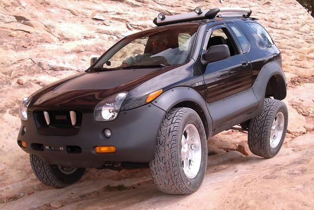 weird cars: the isuzu vehicross was a weird but capable suv - autotrader