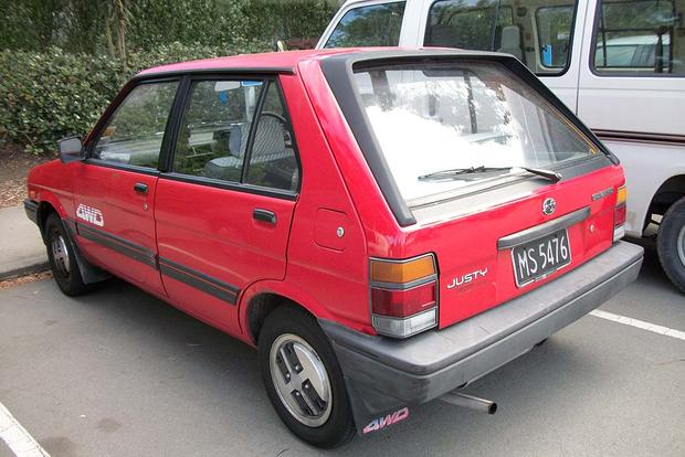 The Subaru Justy Proves That Subaru Wasn't Always Cool featured image large thumb0